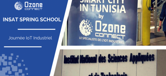 Ozone Connect à la journée IIoT : INSAT Spring School