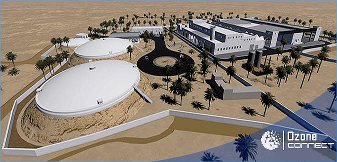 Ozone Connect: Acteur au projet de dessalement de l'eau de mer de Djerba