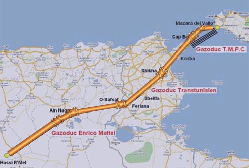 Comment surveiller la température des pipelines de gaz en Tunisie à distance ?