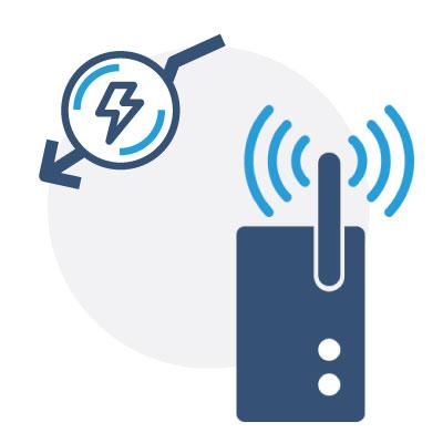 Passerelle IoT - faible consommation d'énergie