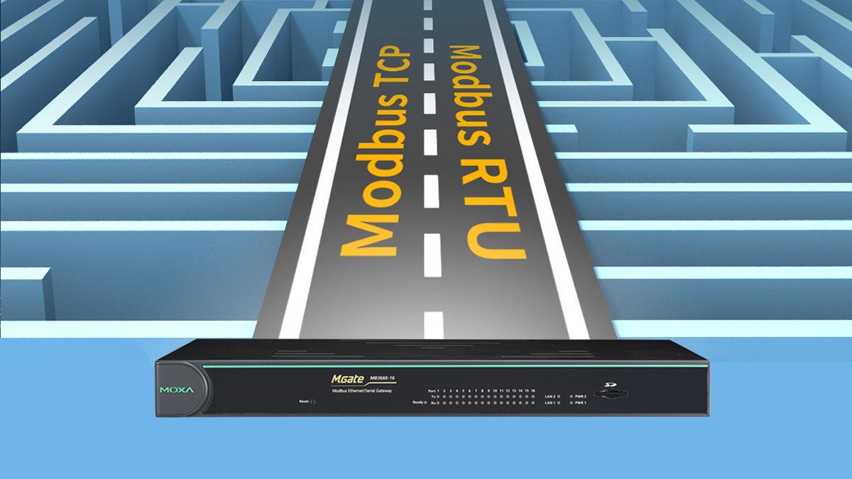 MGate MB3660 : La solution pour accélérer l'acquisition de données Modbus