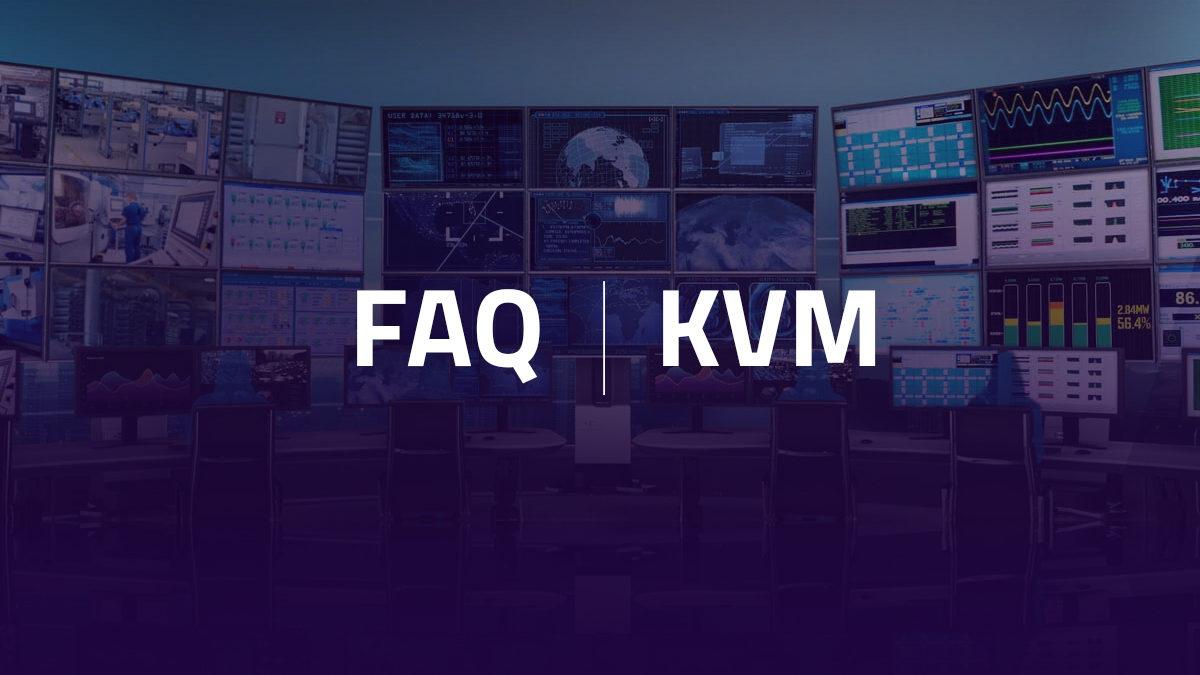 FAQ – KVM (écran-clavier-souris)